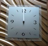 Hodiny na zeď Designové hodiny AMS 9329 čtvercové 146236 Designové hodiny