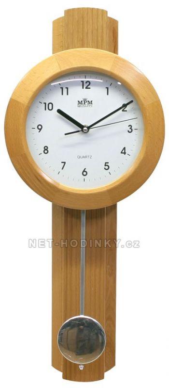 Hodiny na zeď Designové kyvadlové hodiny BTWP309.08 145571 Designové hodiny