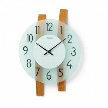 Hodiny na zeď Designové nástěnné hodiny AMS 9203, 9202 146273 Designové hodiny