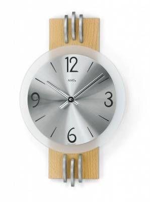 Hodiny na zeď Designové nástěnné hodiny AMS 9229, 9227 146265 Designové hodiny