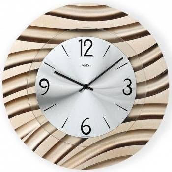 Hodiny na zeď Designové nástěnné hodiny AMS 9328 146239 Designové hodiny