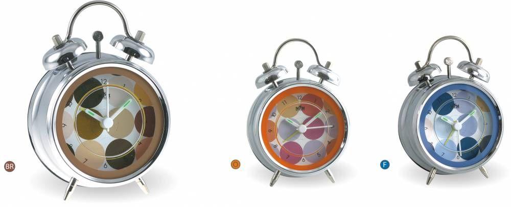 Hodiny na zeď Dětský budík bateriový 146038 MPM Quality Designové hodiny