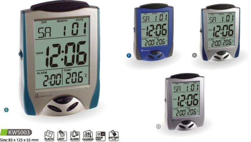 Hodiny na zeď Digitální budík KW5003 E, F, K, S 145642 MPM Quality Designové hodiny