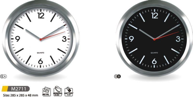 Hodiny na zeď Kovové nástěnné hodiny M2711 - SA, SB 145606 MPM Quality Designové hodiny