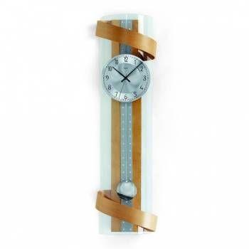 Hodiny na zeď Kyvadlové hodiny AMS 5202/18, 5202/1 146212 Designové hodiny