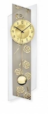 Hodiny na zeď Kyvadlové hodiny AMS 5223, 5222 146207 Designové hodiny