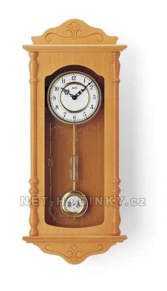 Hodiny na zeď Kyvadlové hodiny AMS 7013/9, 7013/16, 7013/1 146127 Designové hodiny