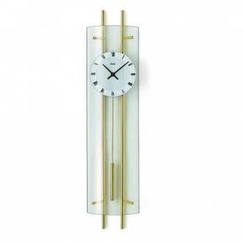 Hodiny na zeď Kyvadlové hodiny AMS 7027, 7025 146192 Designové hodiny