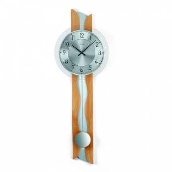 Hodiny na zeď Kyvadlové hodiny AMS 7216/18, 7216 146185 Designové hodiny