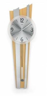 Hodiny na zeď Kyvadlové hodiny AMS 7262, 7261 146177 Designové hodiny