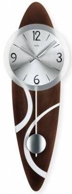 Hodiny na zeď Kyvadlové hodiny AMS 7270/1 146172 Designové hodiny