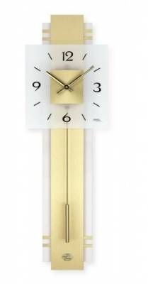 Hodiny na zeď Kyvadlové hodiny AMS 7301 146159 Designové hodiny