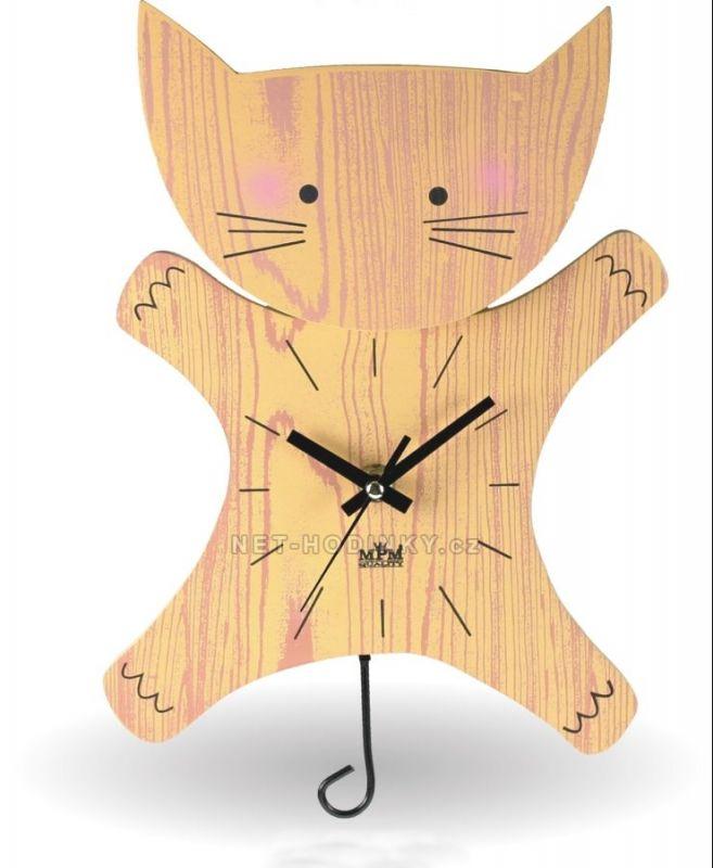 Hodiny na zeď Kyvadlové hodiny dětské QHA 9808.3 146033 MPM Quality Designové hodiny