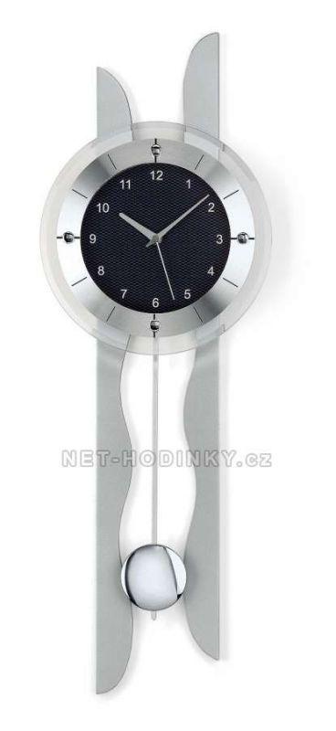 Hodiny na zeď Kyvadlové hodiny rádiem řízené AMS 5243 146198 Designové hodiny