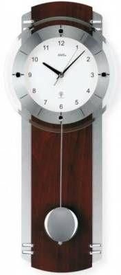 Hodiny na zeď Kyvadlové hodiny rádiem řízené AMS 5245/18, 5245/1 146196 Designové hodiny