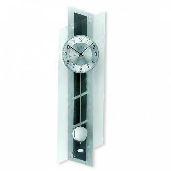 Hodiny na zeď Kyvadlové hodiny řízené rádiovým signálem AMS 5217 146208 Designové hodiny