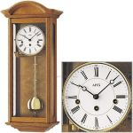 Hodiny na zeď Mechanické kyvadlové hodiny AMS 2606/4 dub, 2606/1 ořech 146144 Designové hodiny