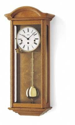 Mechanické kyvadlové hodiny AMS 606/4 dub, 606/1 ořech 146133 Hodinářství
