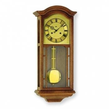 Hodiny na zeď Mechanické kyvadlové hodiny AMS 650/4 dub 146129 Designové hodiny