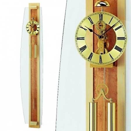 Hodiny na zeď Mechanické kyvadlové hodiny AMS 687/15 146135 Designové hodiny