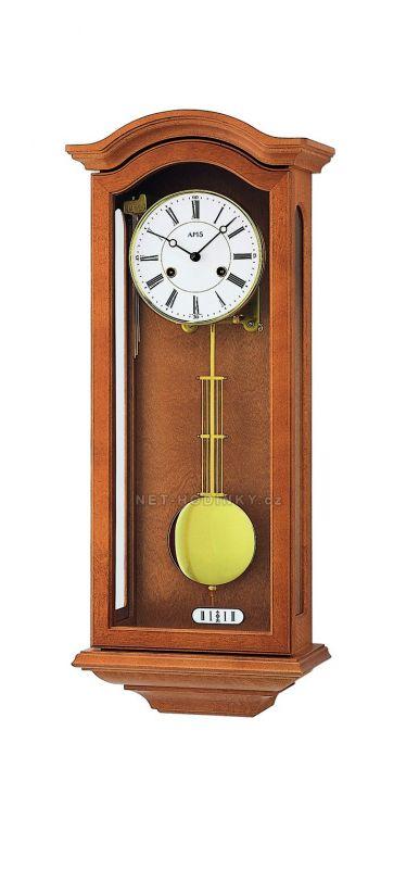 Mechanické kyvadlové hodiny AMS 696/16 olše, 696/4 dub 146122 Hodinářství