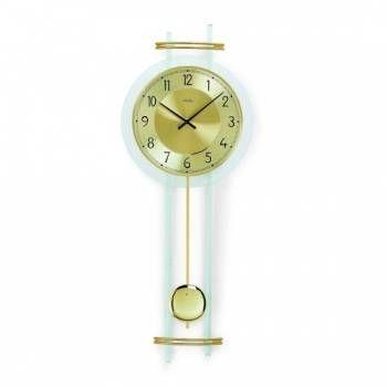 Hodiny na zeď Moderní kyvadlové hodiny AMS 7182, 7152 146187 Designové hodiny