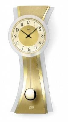 Hodiny na zeď Moderní kyvadlové hodiny AMS 7267 146174 Designové hodiny