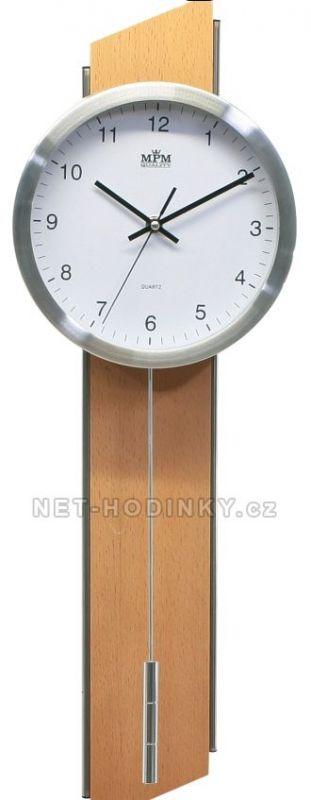 Hodiny na zeď Moderní kyvadlové hodiny BWP273.23 145577 MPM Quality Designové hodiny