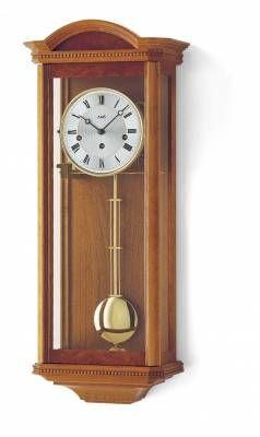 Hodiny na zeď Moderní mechanické kyvadlové hodiny AMS 2663/9 třešeň, 2663/1 ořech 146379 Designové hodiny