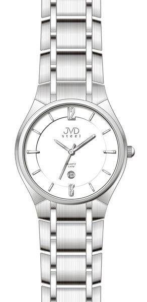 Hodiny na zeď Náramkové hodinky JVD steel J1042.1.9 146957 Designové hodiny