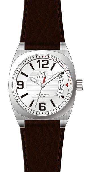 Hodiny na zeď Náramkové hodinky JVD steel J1050.1.2, J 1050.2.3 147098 Designové hodiny