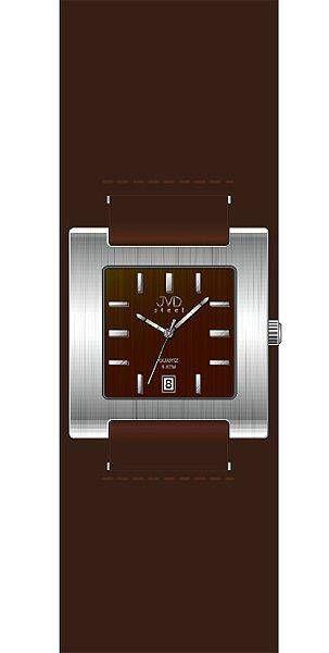Hodiny na zeď Náramkové hodinky JVD steel J4016.2.2 146677 Designové hodiny