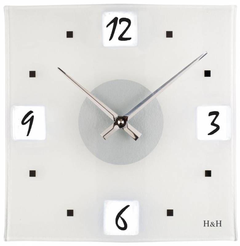 Hodiny na zeď Nástěnné hodiny 1116.2 145997 H&H Designové hodiny