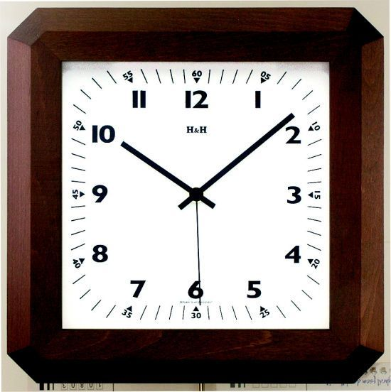 Hodiny na zeď Nástěnné hodiny 4318.7, 4319.1 dřevěné 139074 Designové hodiny