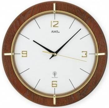 Nástěnné hodiny AMS 5832 rádiem řízené 146317