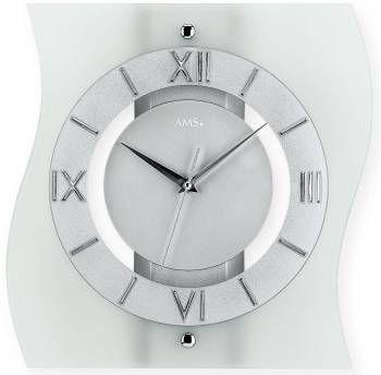 Hodiny na zeď Nástěnné hodiny AMS 5909 146291 Designové hodiny