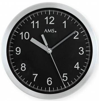 Hodiny na zeď Nástěnné hodiny AMS 5911, 5910 rádiem řízené 146290 Designové hodiny