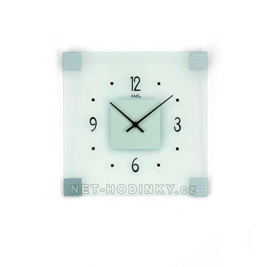 Hodiny na zeď Nástěnné hodiny AMS 9205 146271 Designové hodiny