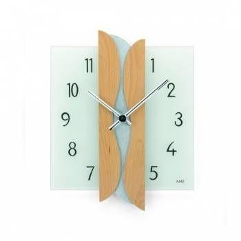 Hodiny na zeď Nástěnné hodiny AMS 9214/18, 9214 146269 Designové hodiny