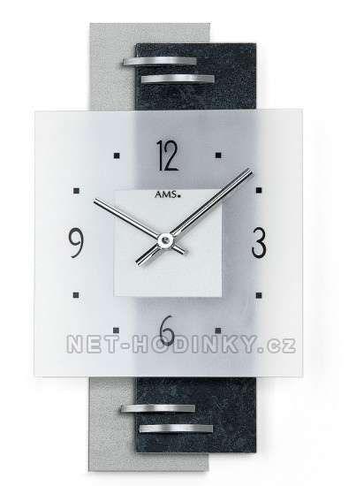 Hodiny na zeď Nástěnné hodiny AMS 9245 146262 Designové hodiny