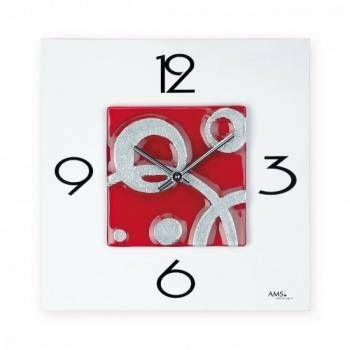 Hodiny na zeď Nástěnné hodiny AMS 9256 146257 Designové hodiny