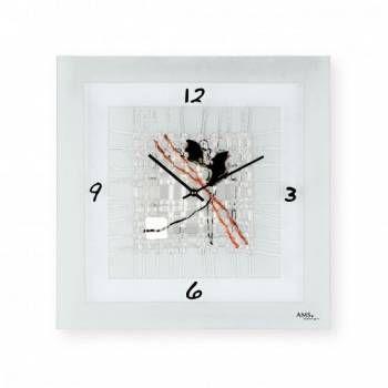 Hodiny na zeď Nástěnné hodiny AMS 9269 146255 Designové hodiny