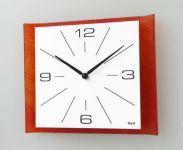 Hodiny na zeď Nástěnné hodiny čtvercové 1115.1 145066 H&H Designové hodiny