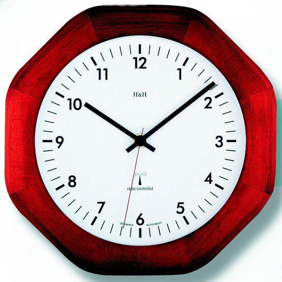 Hodiny na zeď Nástěnné hodiny dřevěné 4085.2 RC hranaté 142220 Designové hodiny
