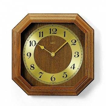 Nástěnné hodiny dřevěné AMS 5864/4, AMS 5864/18 146226 5864/18