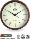 Nástěnné hodiny dřevěné FR107 145544 MPM Quality Hodinářství