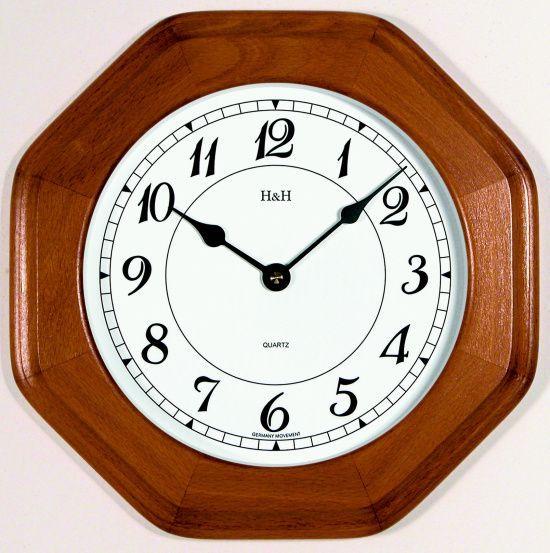 Nástěnné hodiny hranaté m4271.7 medová barva, m4272.3 buk 139076 Hodinářství