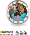 Nástěnné hodiny kovové AMGL07OE 145612