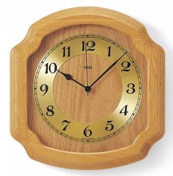 Hodiny na zeď Nástěnné hodiny řízené rádiem AMS 5801/5 146230 Designové hodiny