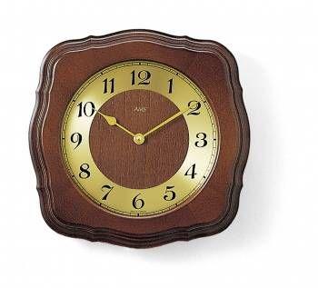 Hodiny na zeď Nástěnné hodiny řízené rádiem AMS 5862/1 146227 Designové hodiny